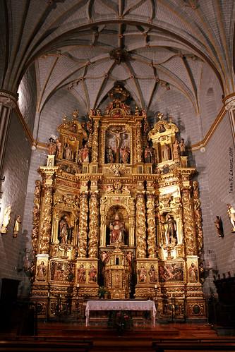 Retablo Mayor d'a ilesia de Sant Pedro
