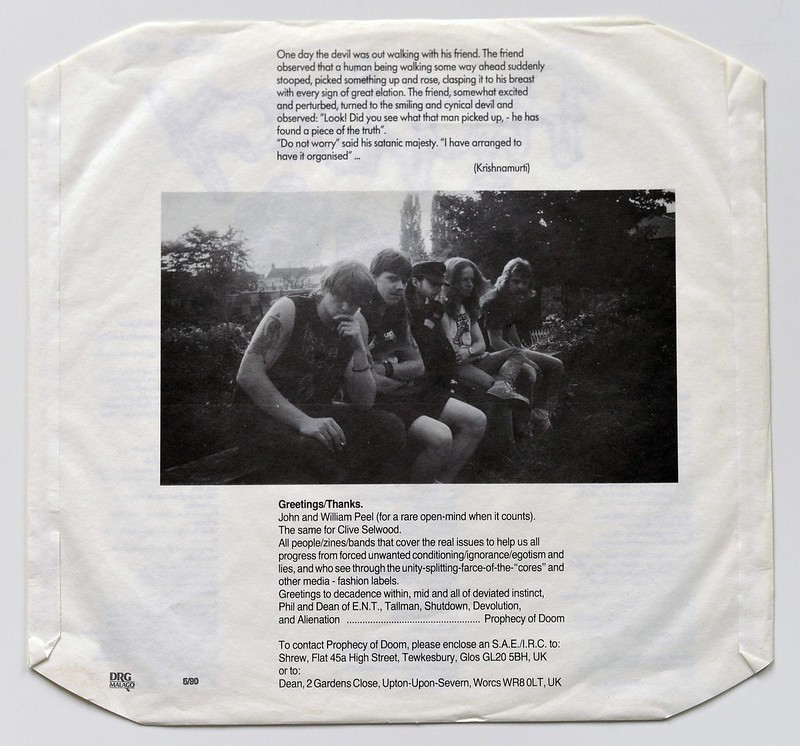 A0566 PROPHECY OF DOOM The Peel Sessions