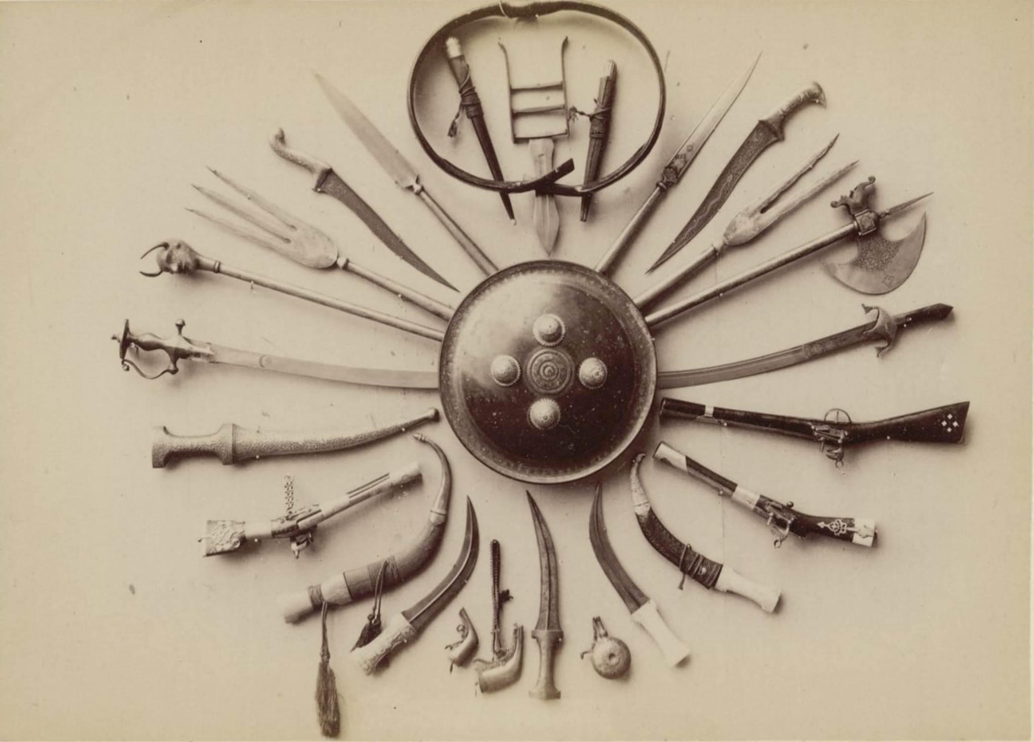 30. Персидское оружие