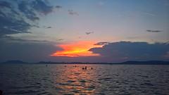 Sunset, Balatonlelle, Hungary