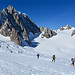 Punta Helbronner - Monte Bianco - Ghiacciaio del Gigante - Dente del Gigante