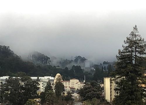 Mist Over Berkeley's Hills