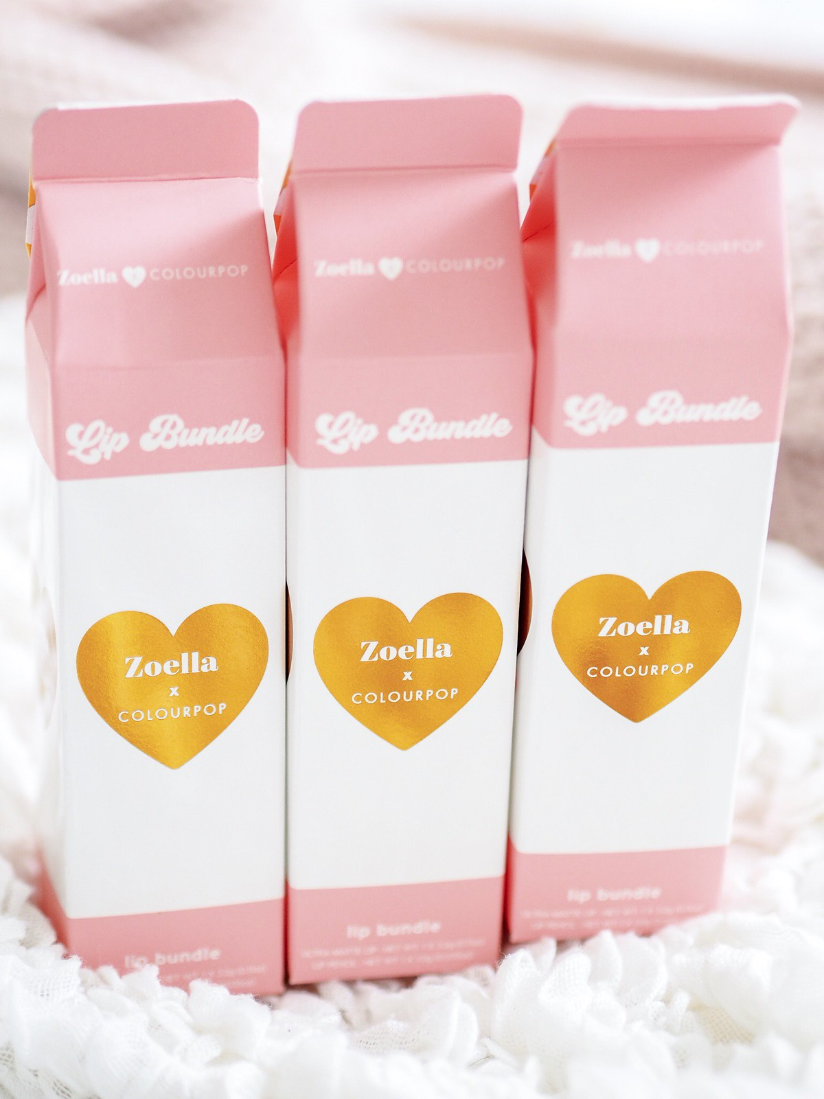 colour pop collection zoella beauty blogger