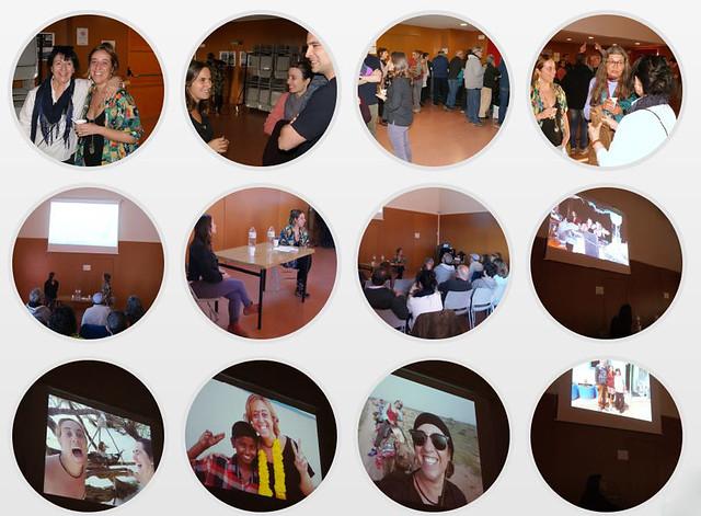 La gent d'Alpens celebra el Dia Internacional de les Dones