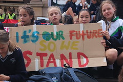 It's our future so we stand -  - Melbourne climate strike - IMG_4016
