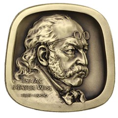 Isaac mayer Wise medal obverse
