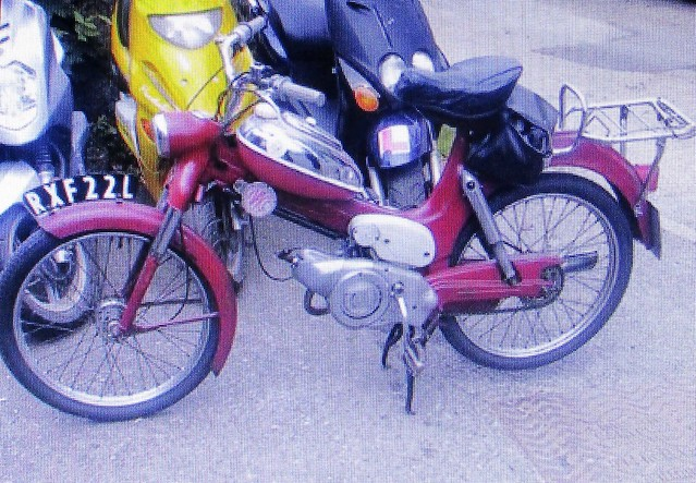 1972 Puch MS 50