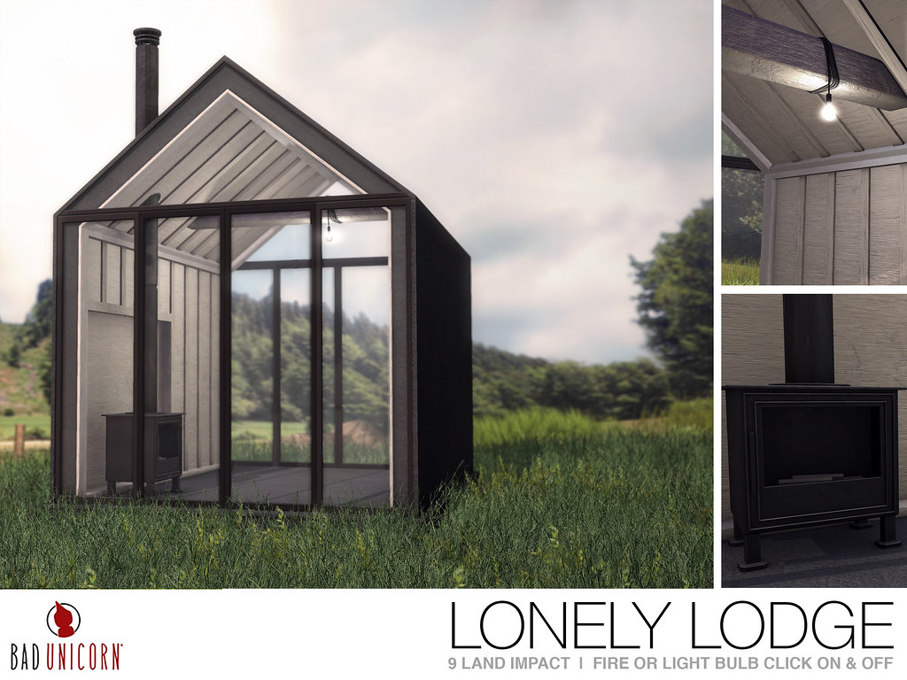 NEW! Lonely Lodge @ FaMESHed - TeleportHub.com Live!