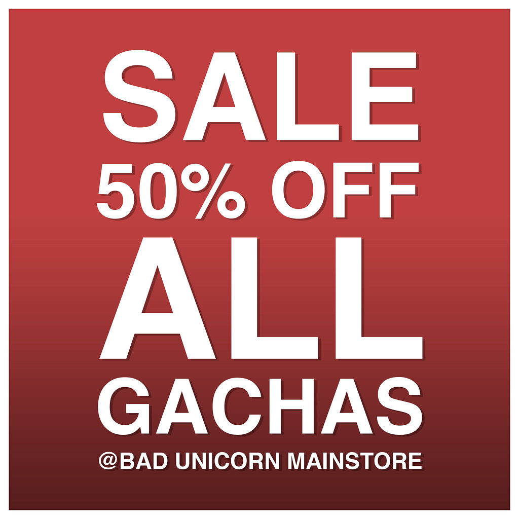 Bad Unicorn –  Gacha Sale