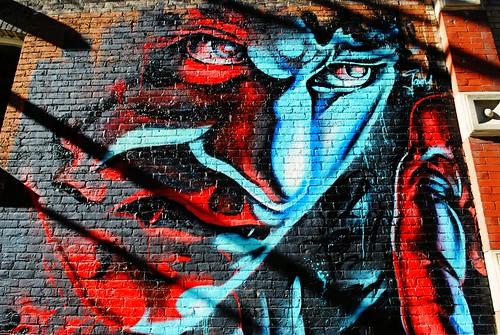Milwaukee Dracula mural