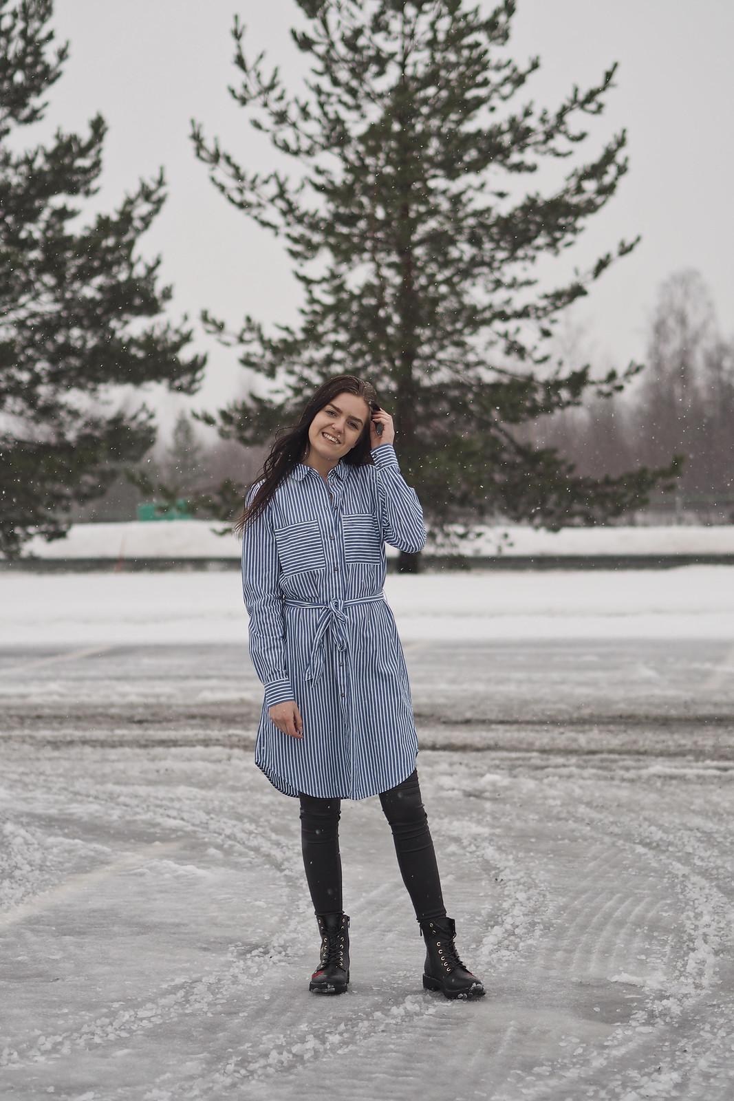 mekko talvella