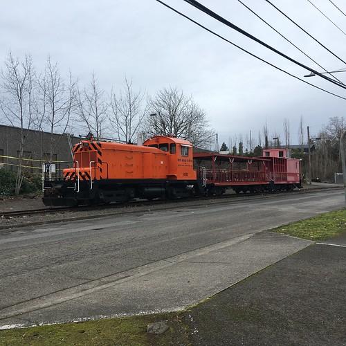Portland Traction passenger train