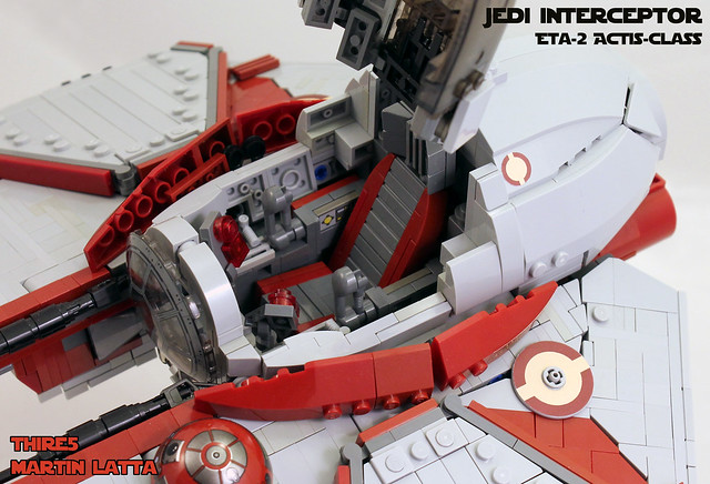UCS Jedi starfighter - Eta-2 Actis-class interceptor