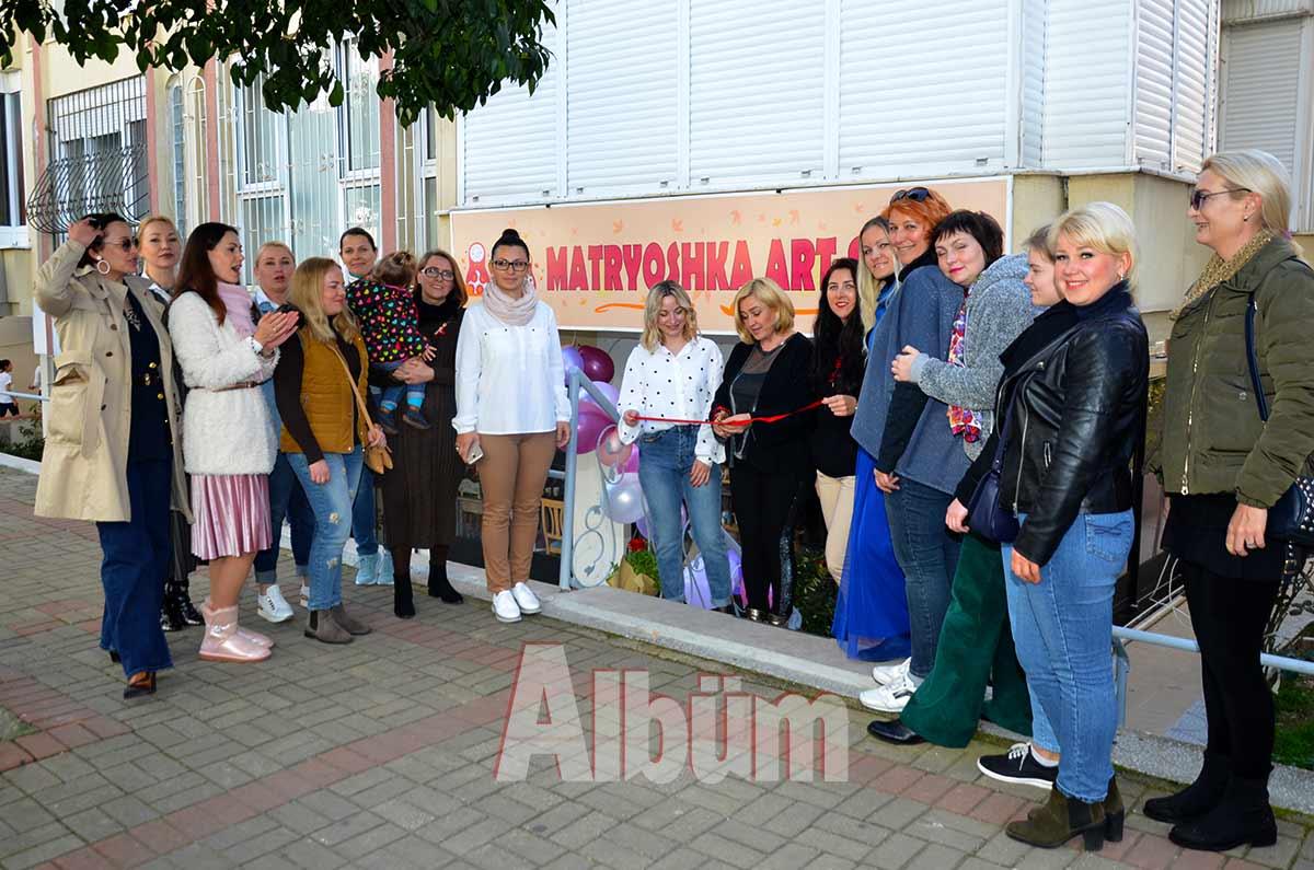 Matryoşhka Art Studio açıldı