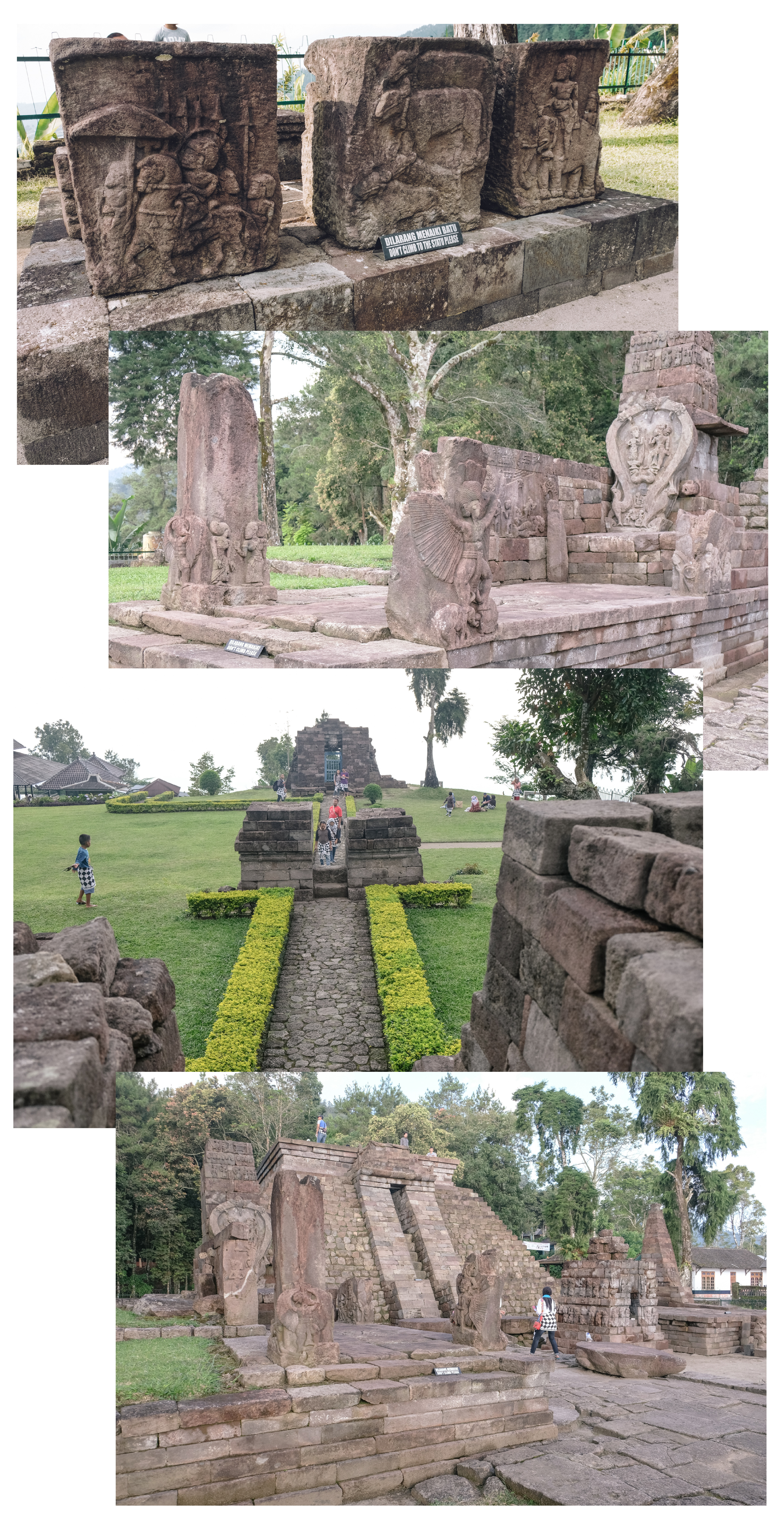 visit kandi (temple) travel in indonesia
