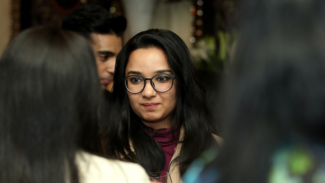 2018年在德里举行的AG亚洲游戏校友招待会
