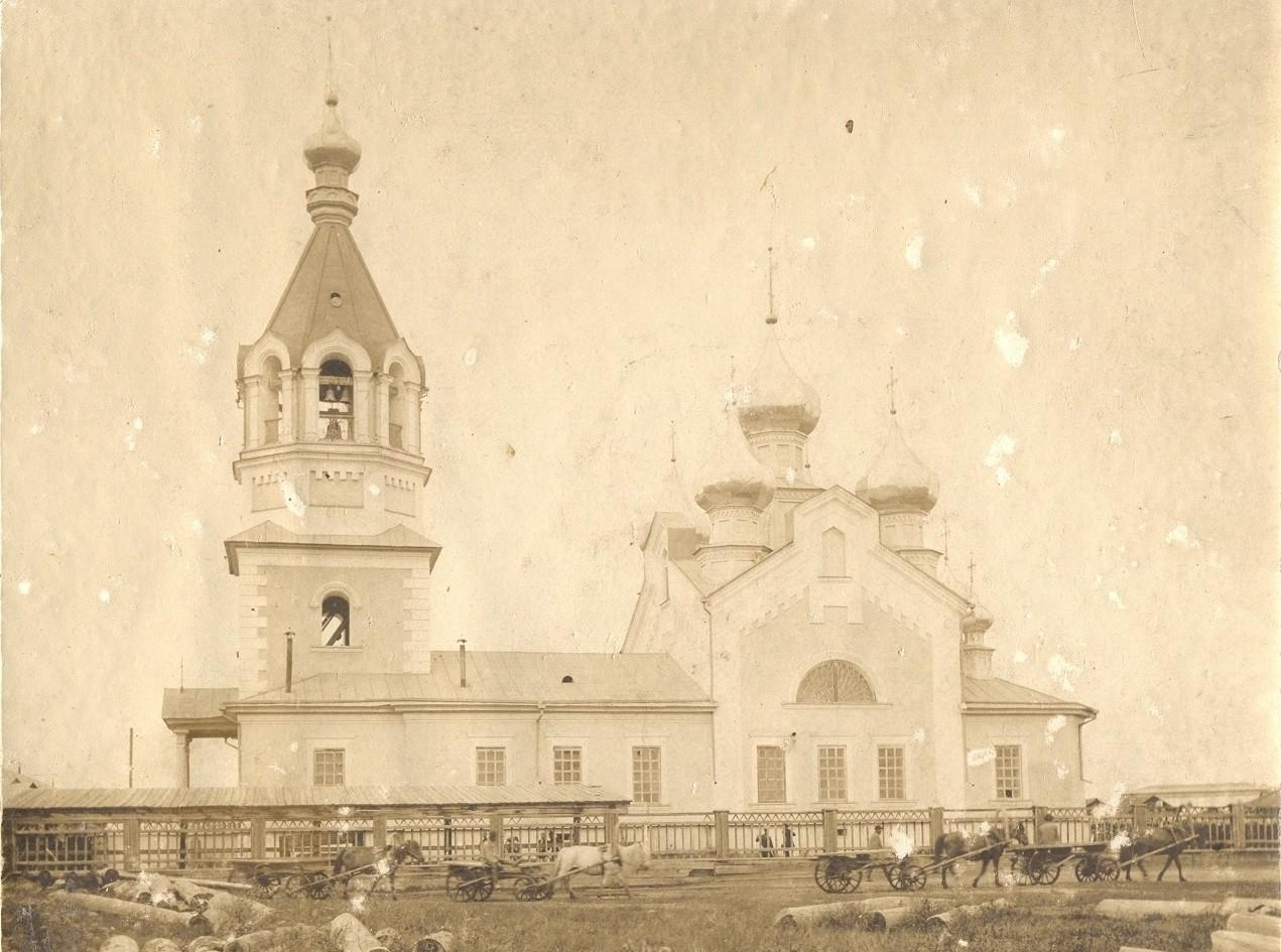 Градо-Якутская Иоанно-Предтеченская церковь.