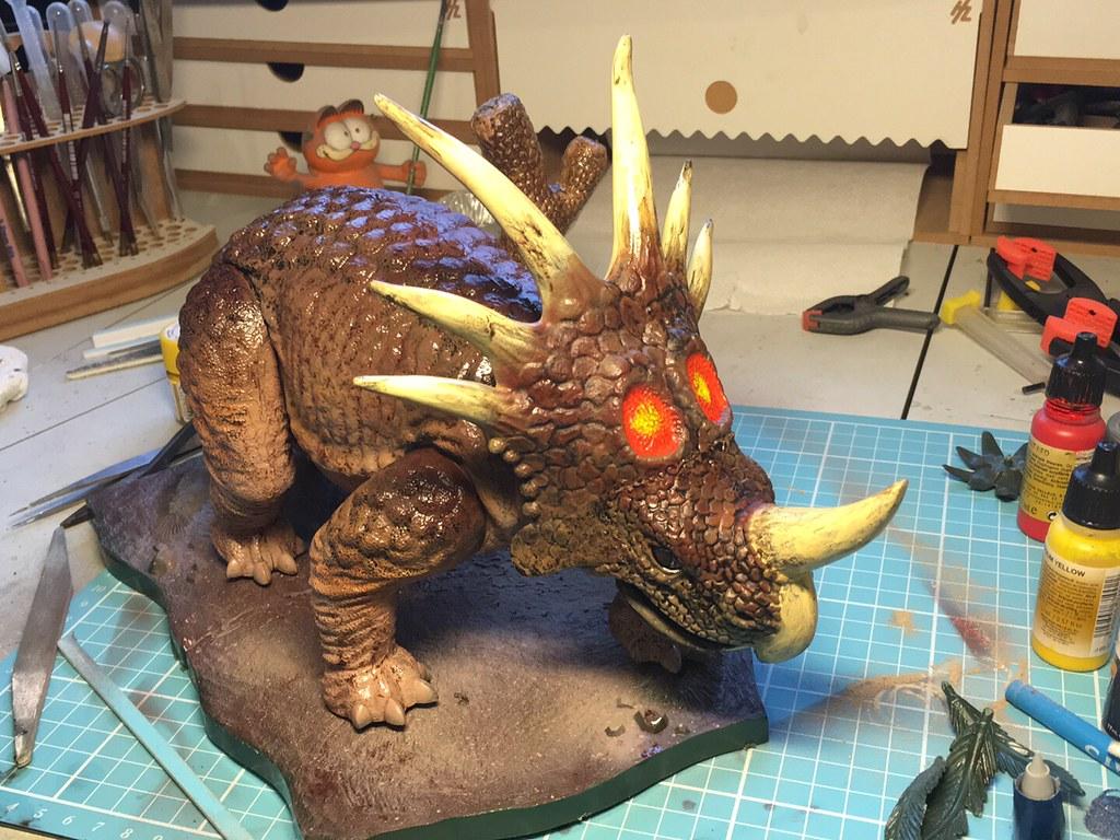 Revell Styracosaurs