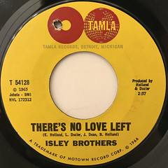 ISLEY BROTHERS:THIS OLD HEART OF MINE(LABEL SIDE-B)