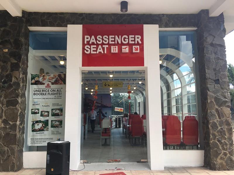Passenger Seat, Marikina