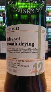 SMWS 135.12 - Juicy yet mouth-drying