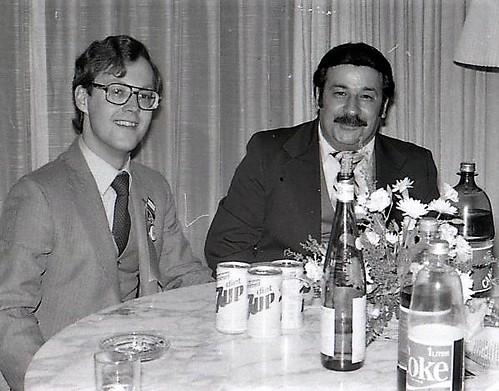 Dave Harper Larry Gentile Metro NYNC WTC 1982ish