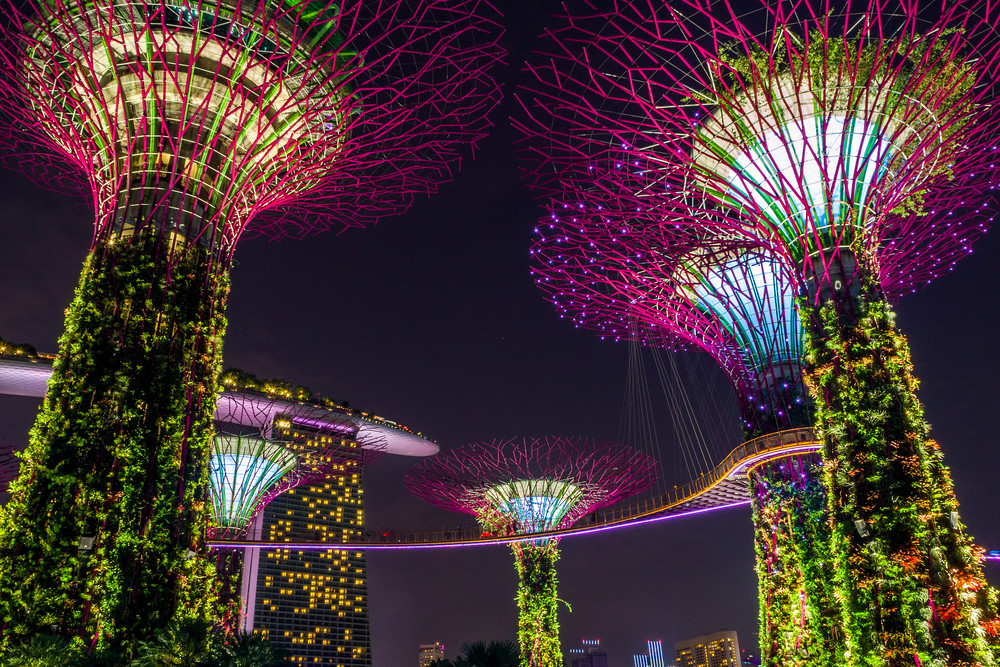 Walks in Singapore: Gardens by the Bay