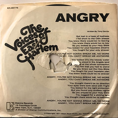 THE VOICES OF EAST HARLEM:ANGRY(JACKET B)