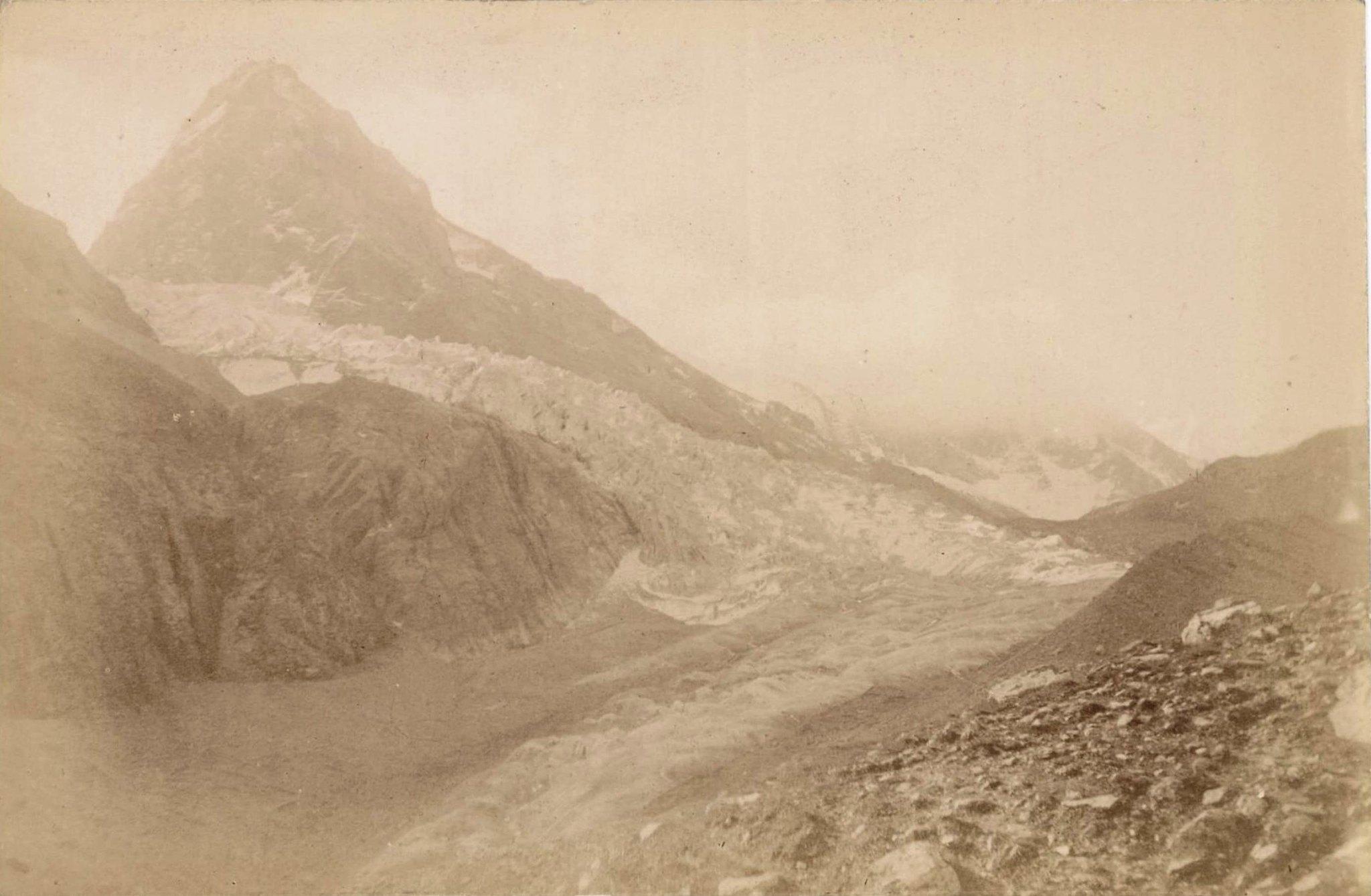 14. Ледники гор Хан-Тенгри. Ледник Западный Моцарт