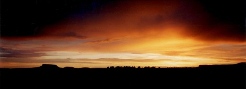 Sunset, Natural Bridges