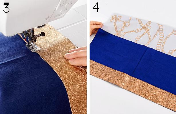 Blue Purse DIY STEPS 3 4
