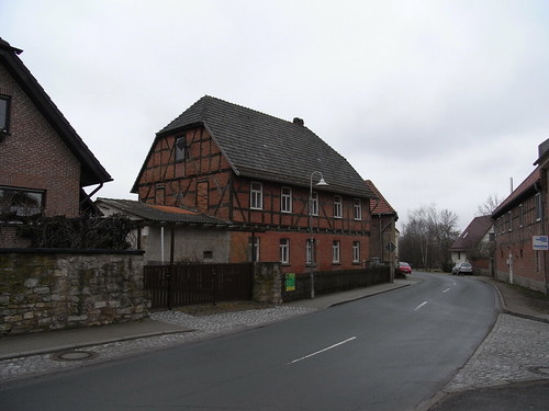 20110318 0205 160 Jakobus Fachwerkhausfassade