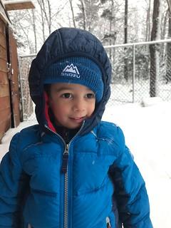 Ezra in Snow