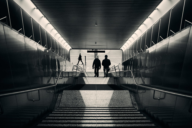 Down to the underground