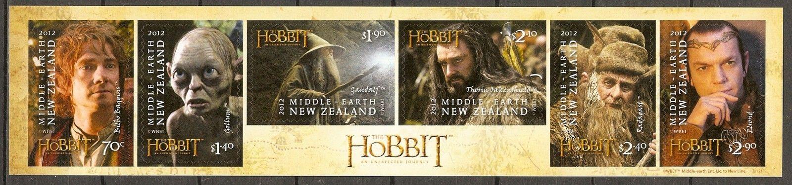 New Zealand - Scott #2983-2988 (2012)