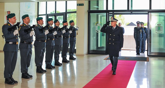 gdf visita comandante augelli