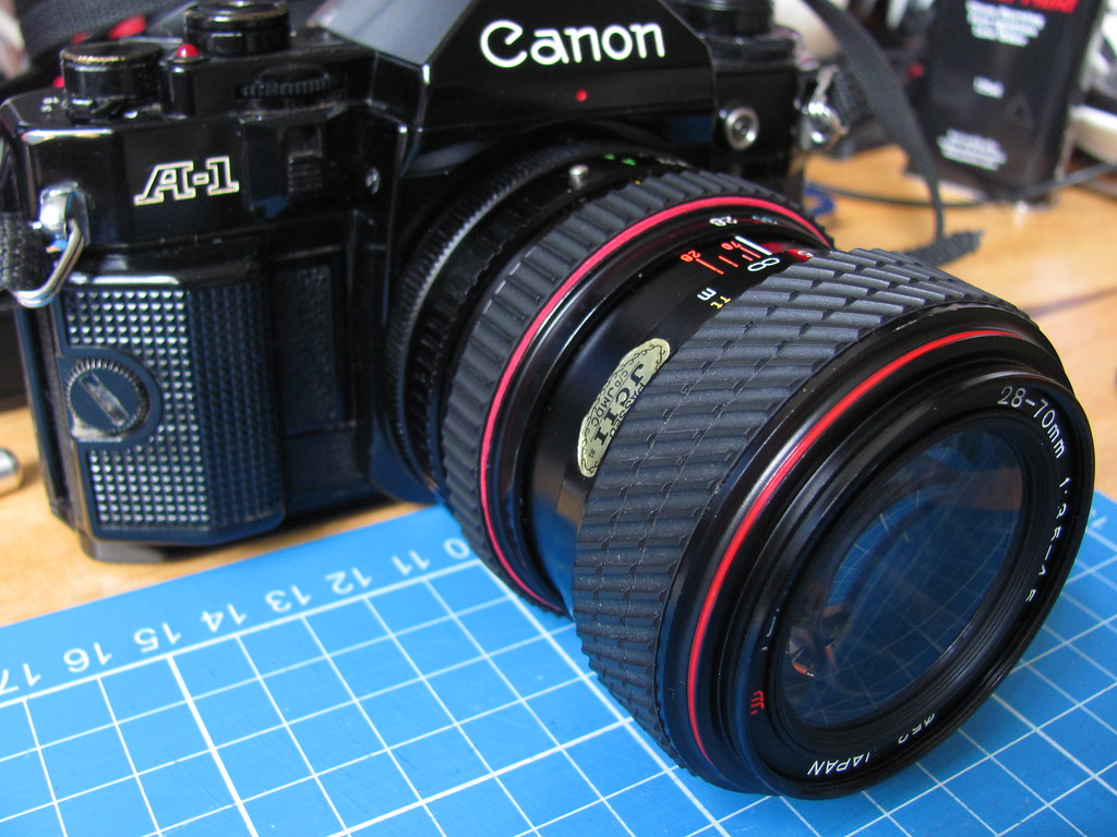 Tokina SD 28-70mm lens focus ring repair