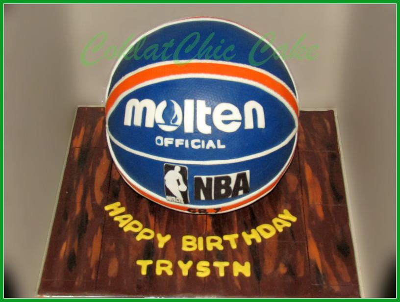 Cake Bola Basket TRYSTN 22 cm