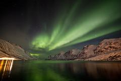 Aurora reflexada / Reflected aurora