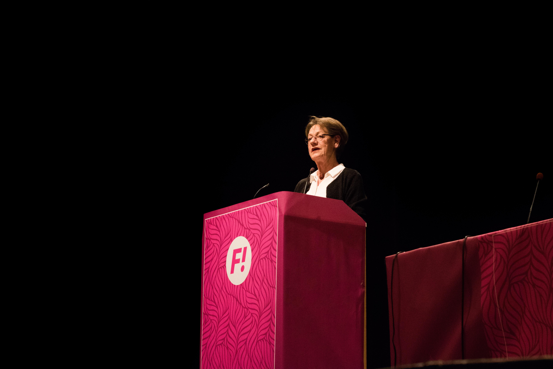 Feministiskt initiativ Sundsvall 2019 Gudrun Schyman - reaktionista.se