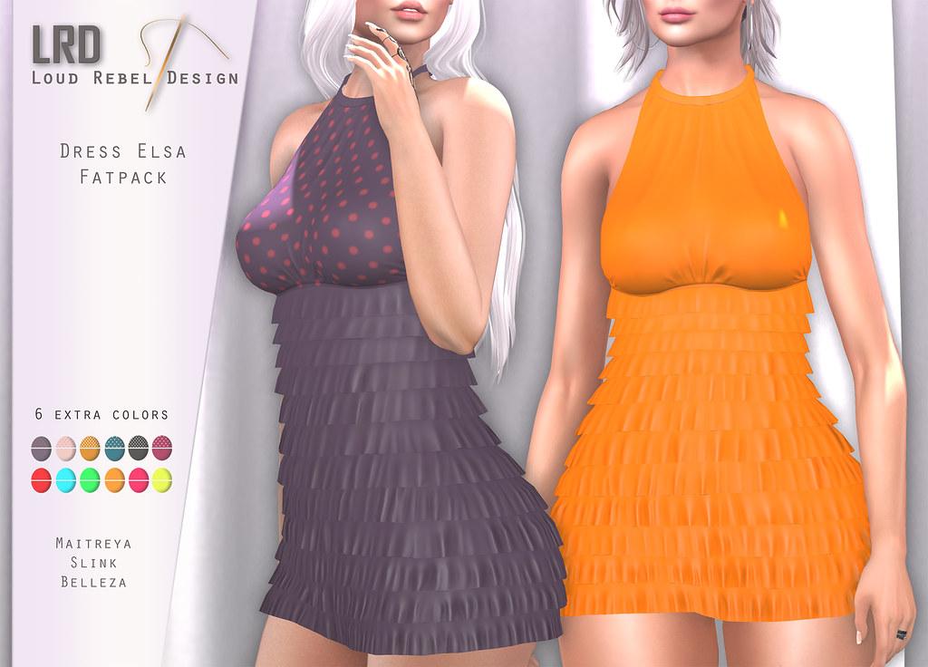 LRD Dress Elsa Fatpack - TeleportHub.com Live!