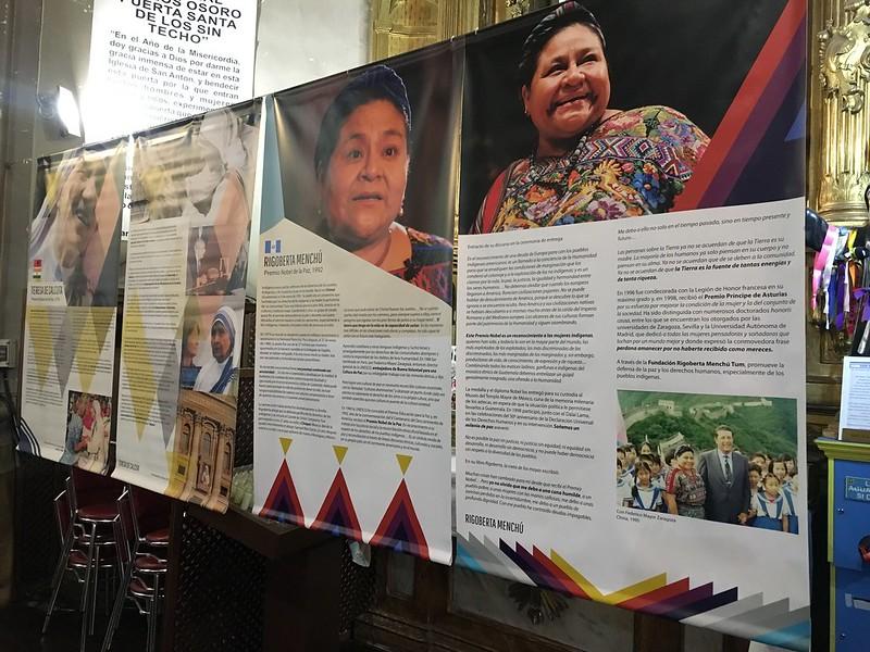Mujeres premios Nobel, en San Antón