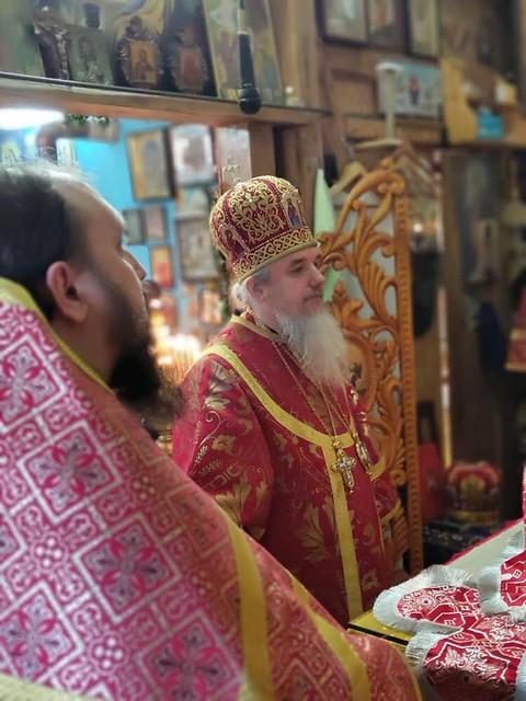 Архиерейская литургия Буча 14.02.2019