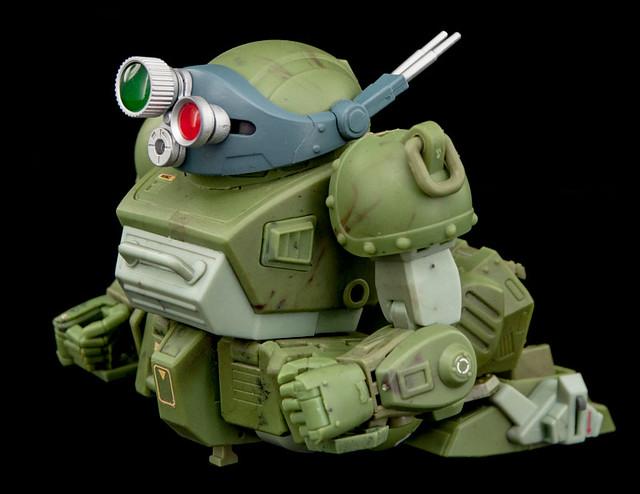 【官圖&販售資訊更新】B2FIVE - 《裝甲騎兵》「眼鏡鬥犬」試作樣品 情報公開!装甲騎兵ボトムズ 1/28 スコープドッグ ATM-09-ST