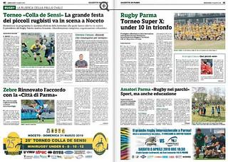 Gazzetta di Parma 27.03.19 - pag 40-41