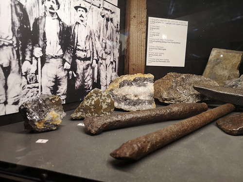 Ore specimens, Aberystwyth musuem