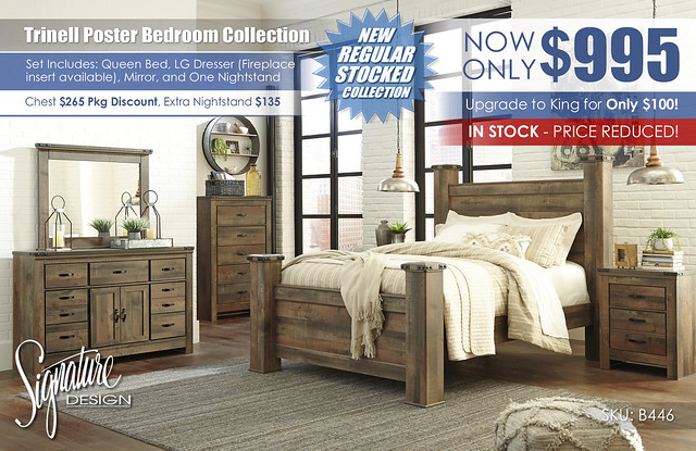 Trinell Poster Bedroom Set_B446-32-26-46-67-64-98-92-Q745_in stock special