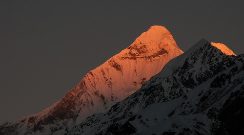Dawn on Nanda Devi