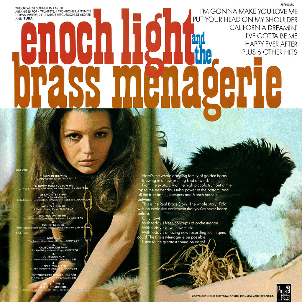 Enoch Light - The Brass Menagerie
