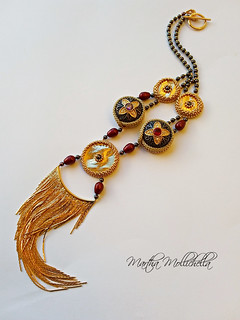 Martha Mollichella handmade necklace